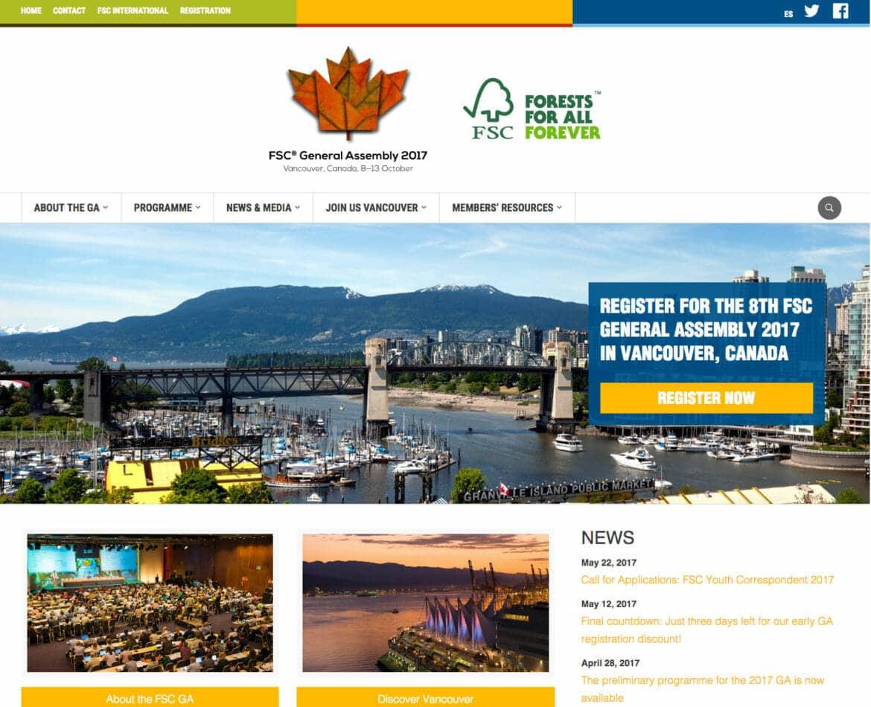 FSC GA 2017 Website