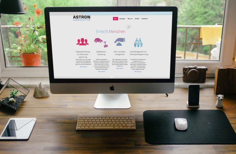WordPress-Theme Astron