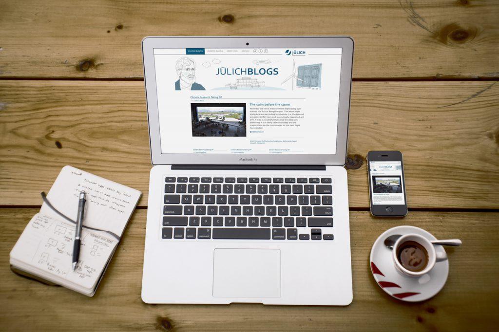 FZ Jülich Blogportal