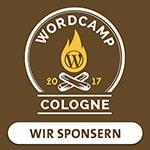 Sponsor auf dem WordCamp Cologne 2017