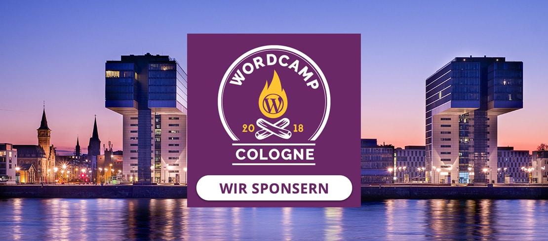 Sponsoring: WordCamp Cologne 2018 wieder als BarCamp