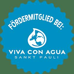 Engagement als Viva con Agua Fördermitglied